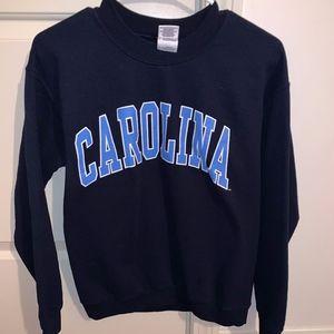 Navy Carolina Pullover Sweater